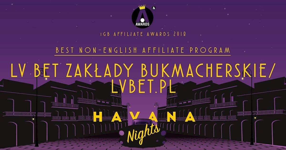 Bukmacher LvBET zdobywa nagrodę w Londynie!