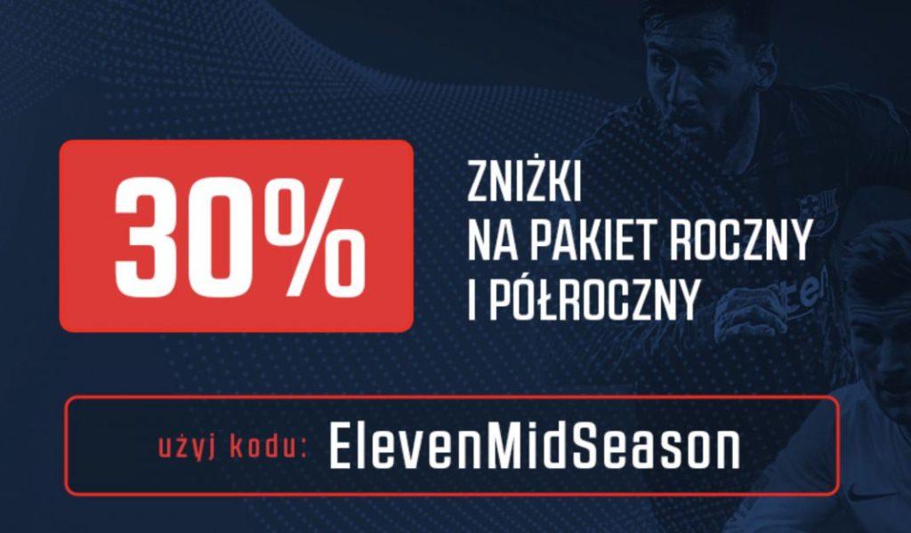 Najnowszy kod promocyjny Eleven Sports