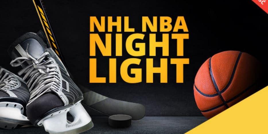 Liga typerów NHL i NBA. 1000 PLN do wygrania w LvBET