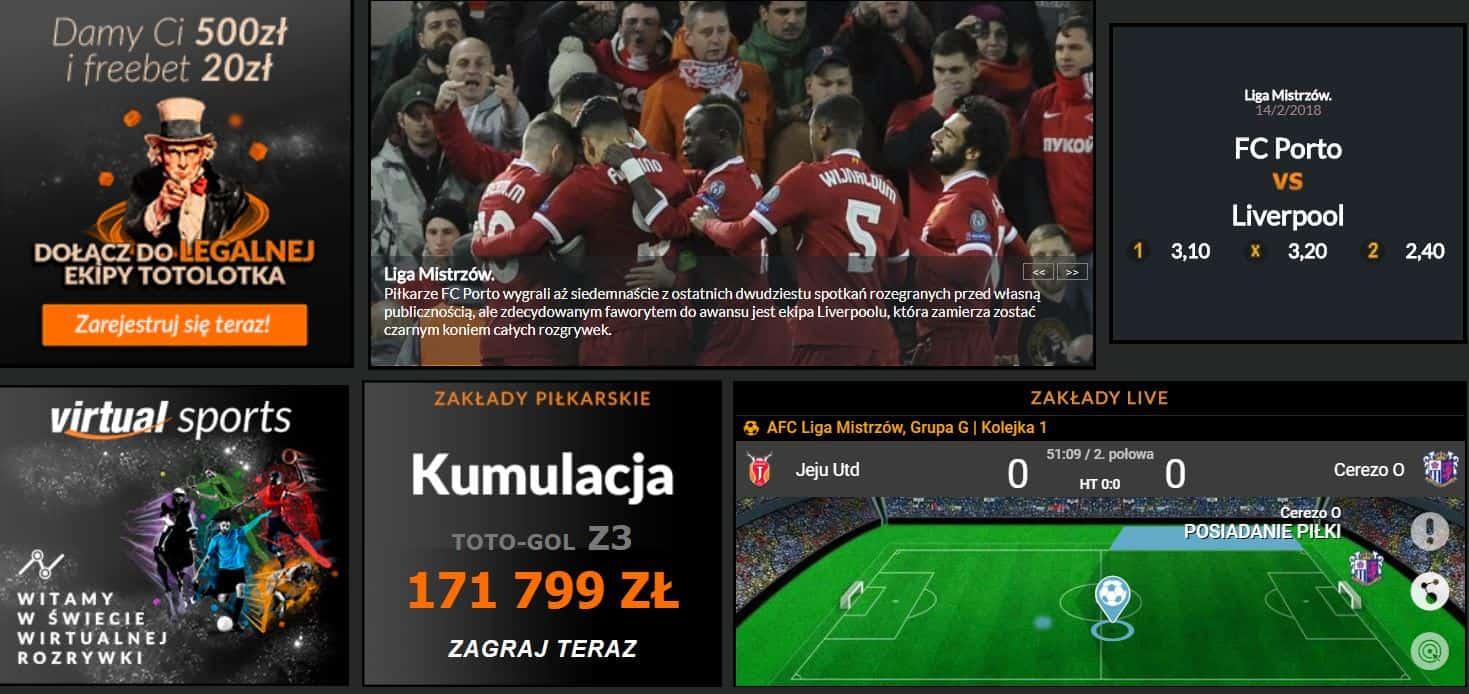 Obstawianie piłki nożnej bez podatku. Bonus 20 PLN na start!