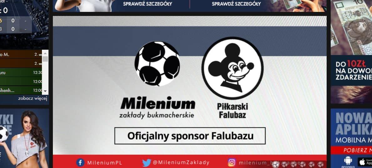 Strona oficjalna Milenium Online
