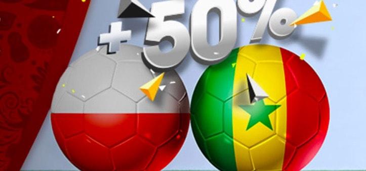 Promocje bukmacherskie na mecz Polski z Senegalem