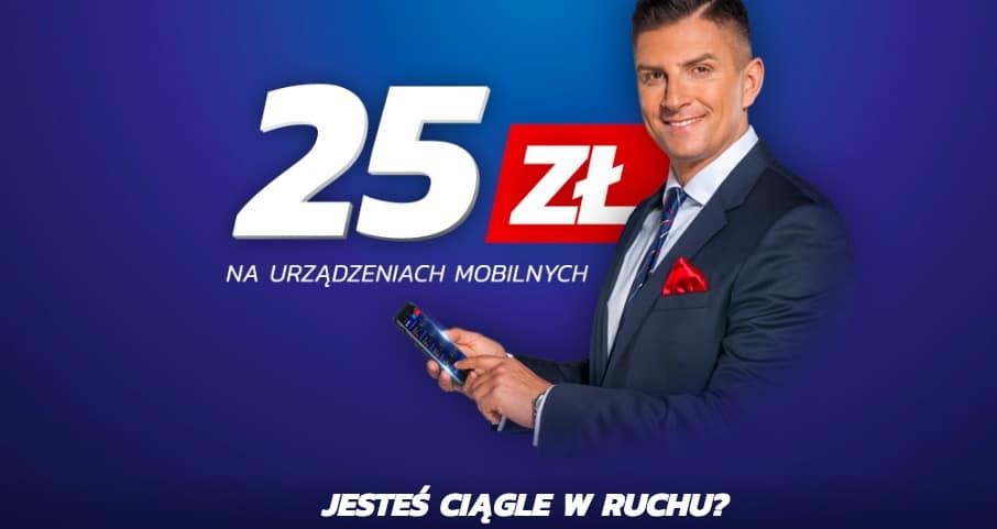 Jak odebrać 25 PLN w mobilnym eToto?