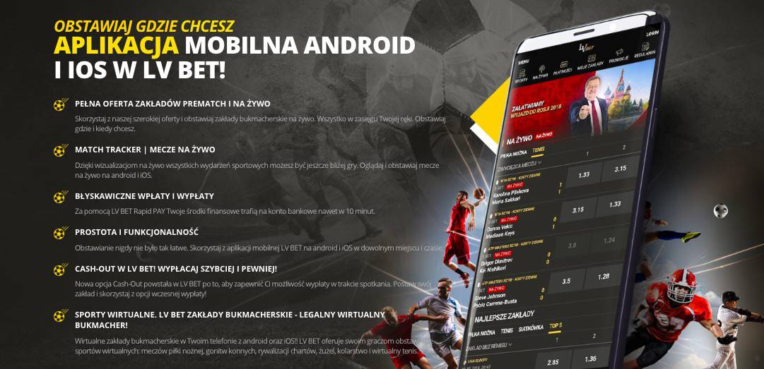 Bukmacher mobilny. Aplikacja czy strona www?