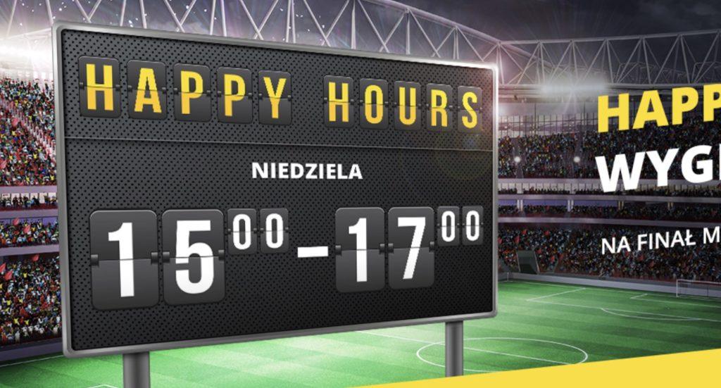 W Fortunie większe wygrane aż o 14%! Oto niedzielne Happy Hours!