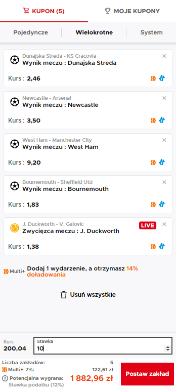 multi plus betclic kupon