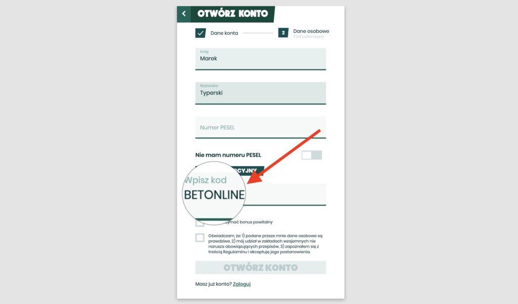 Betfan kod promocyjny VIP. Jak działa, co daje?