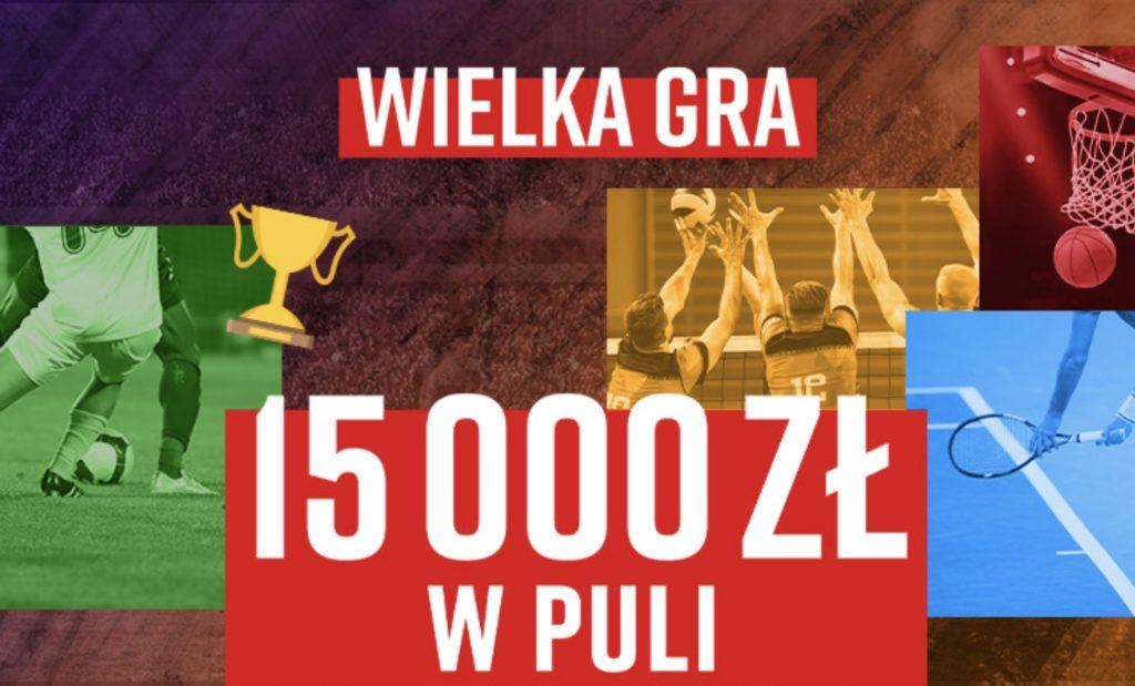 Konkurs bukmacherski w Betclic to szansa na 15.000 PLN!